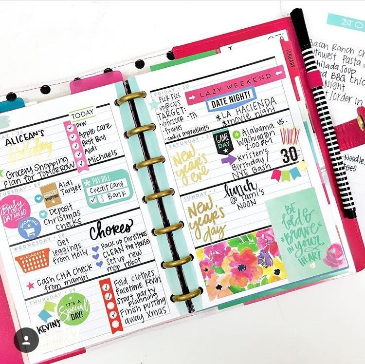 Monthly mini layout planner ideas pinterest layouts for Happy planner ideas