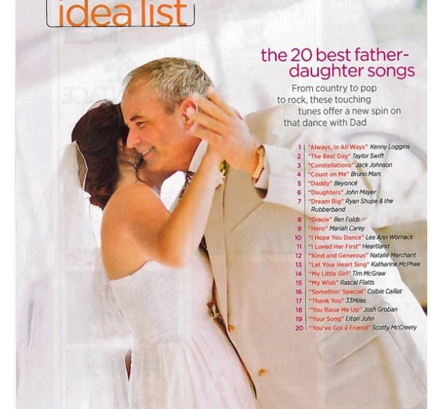 Songs About Dads And Daughters: Father Daughter Dance Ideas