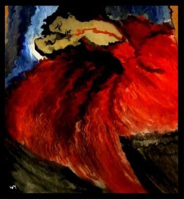 """Saatchi Art Artist Jessica Ivy; Painting, """"Sadness"""" #art"""