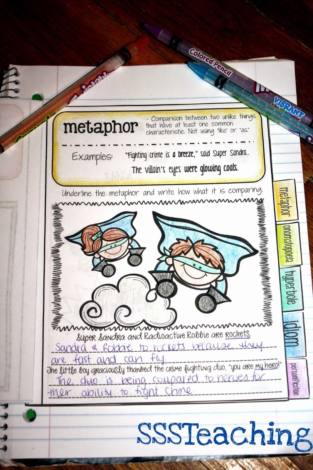 Figurative Language Superheroes
