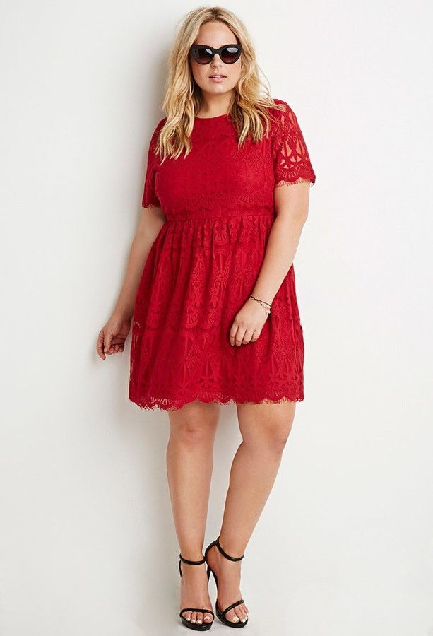 Eternally 21 Forever 21 Eyelash Lace Match Flare Gown