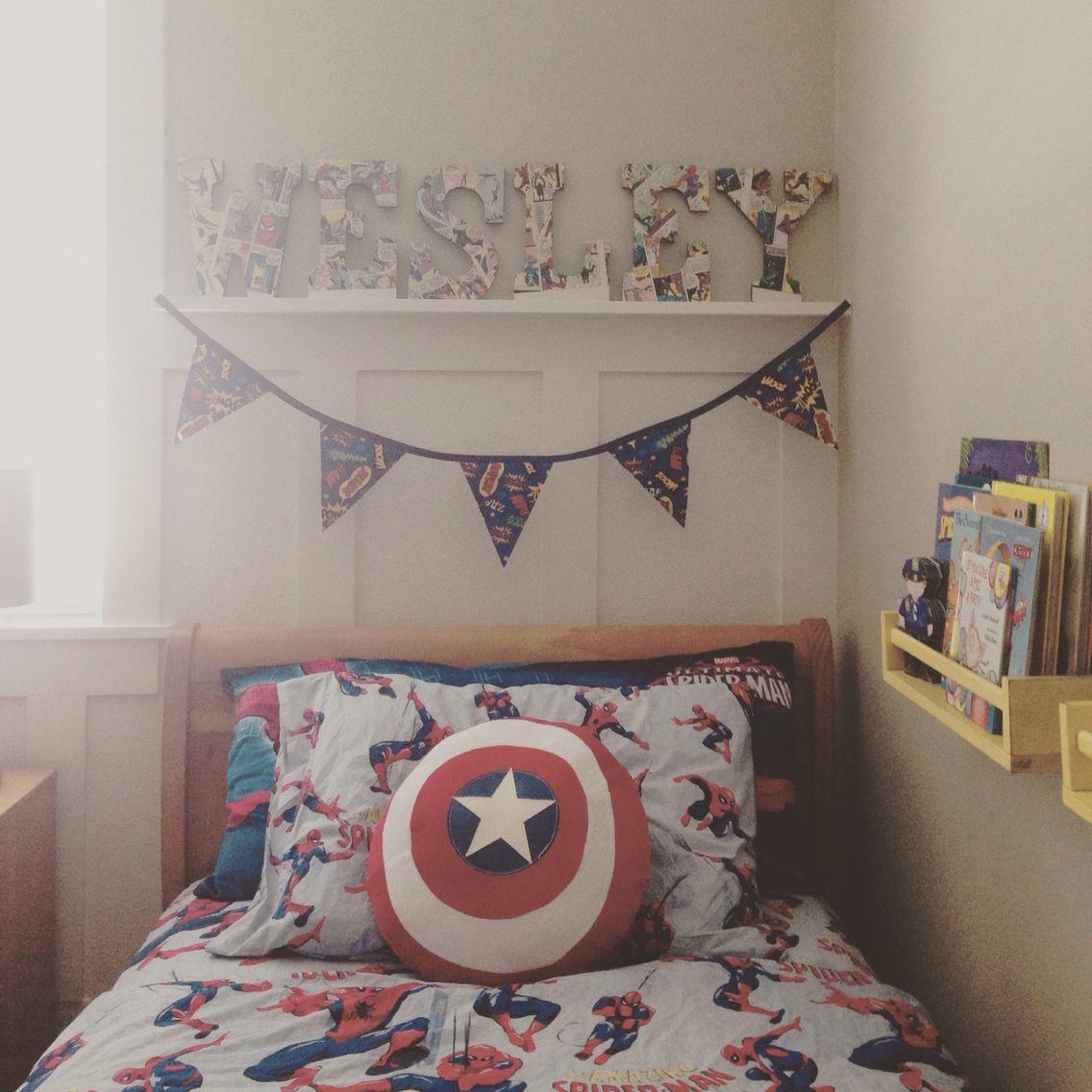 Superhero Big Boy Room