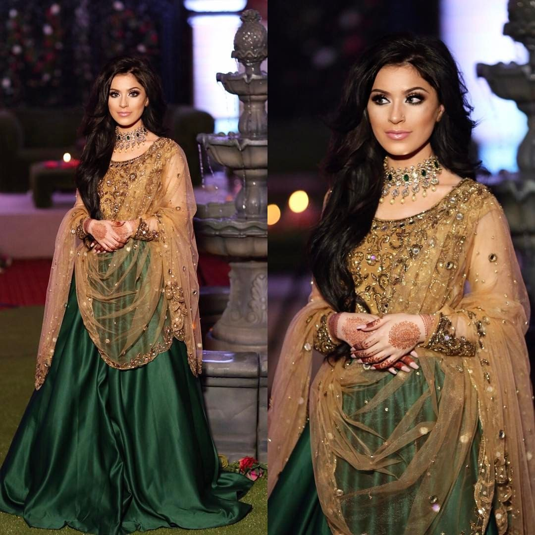 Pin by Hadia Zareef on Lehnga for mehndi event in 2019