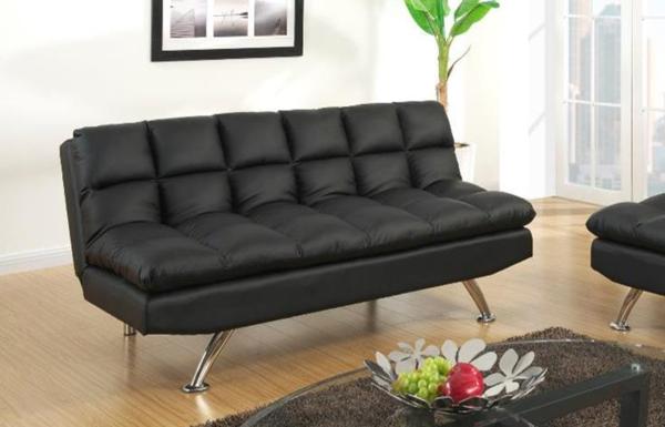 Chalbury Adj Sofa Bed Black Chaise Sofas