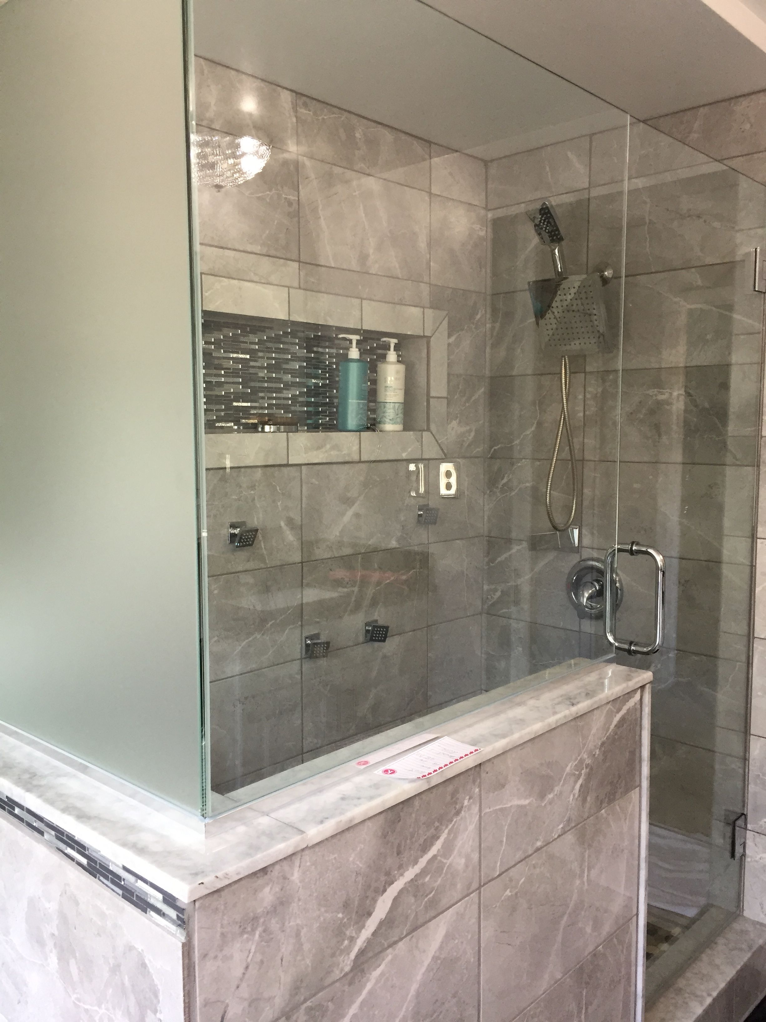 My Finished Bathroom In A Small Space Replaced The Tub