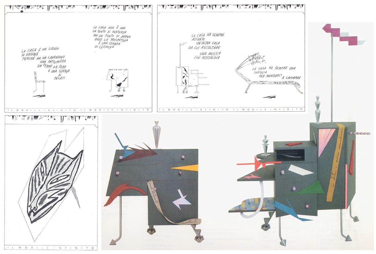 Il mobile infinito estratto da mendini a studio for Design della moda politecnico milano opinioni