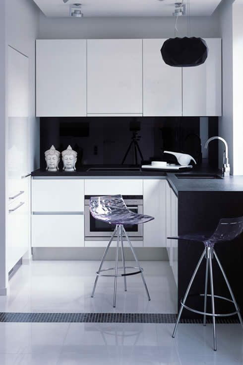Small Kitchen Ideas Apartment apartment-design-by-erges | interior design | pinterest | small