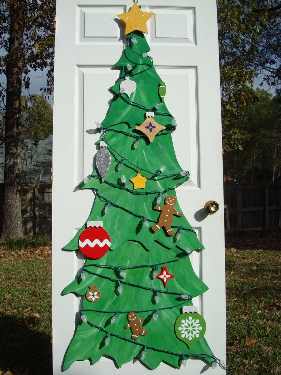 Christmas Tree 6 foot Craft Kit with by SeasonsAndSentiments