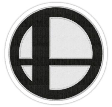 Smash Ball Patch Sticker Super Smash Bros Patch Sticker Super Smash Bros Smash Bros Embroidered Patches