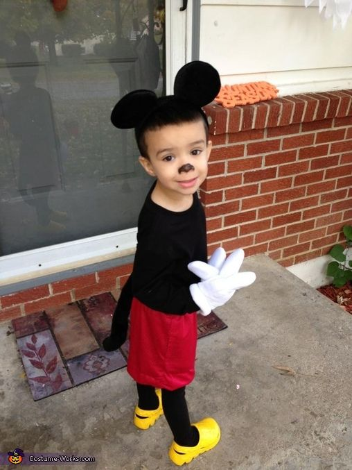halloween 2015 - Baby Mickey Mouse Halloween Costume