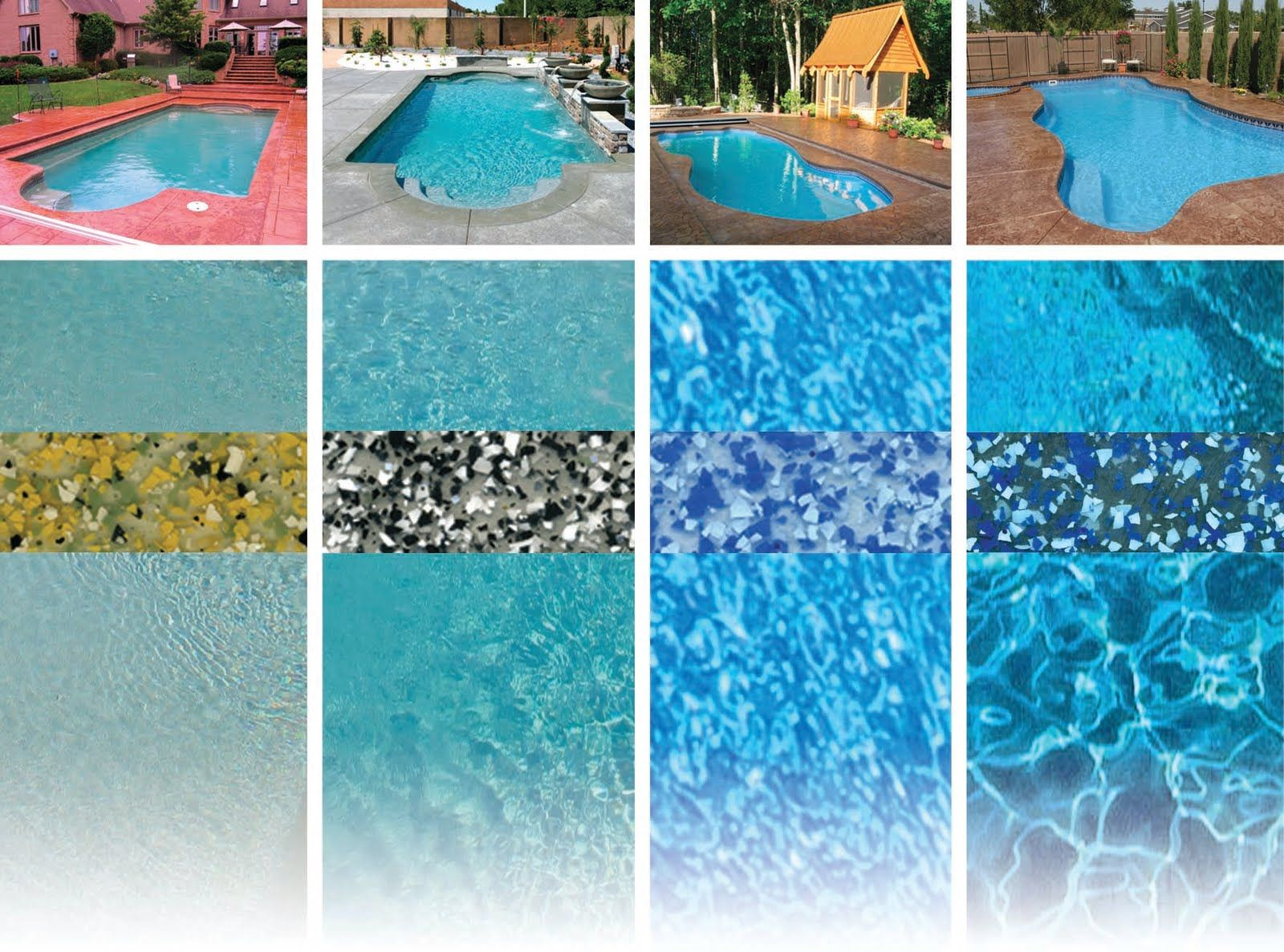 Gunite Pool Colors | Pool Colors Posted by composite pools ...