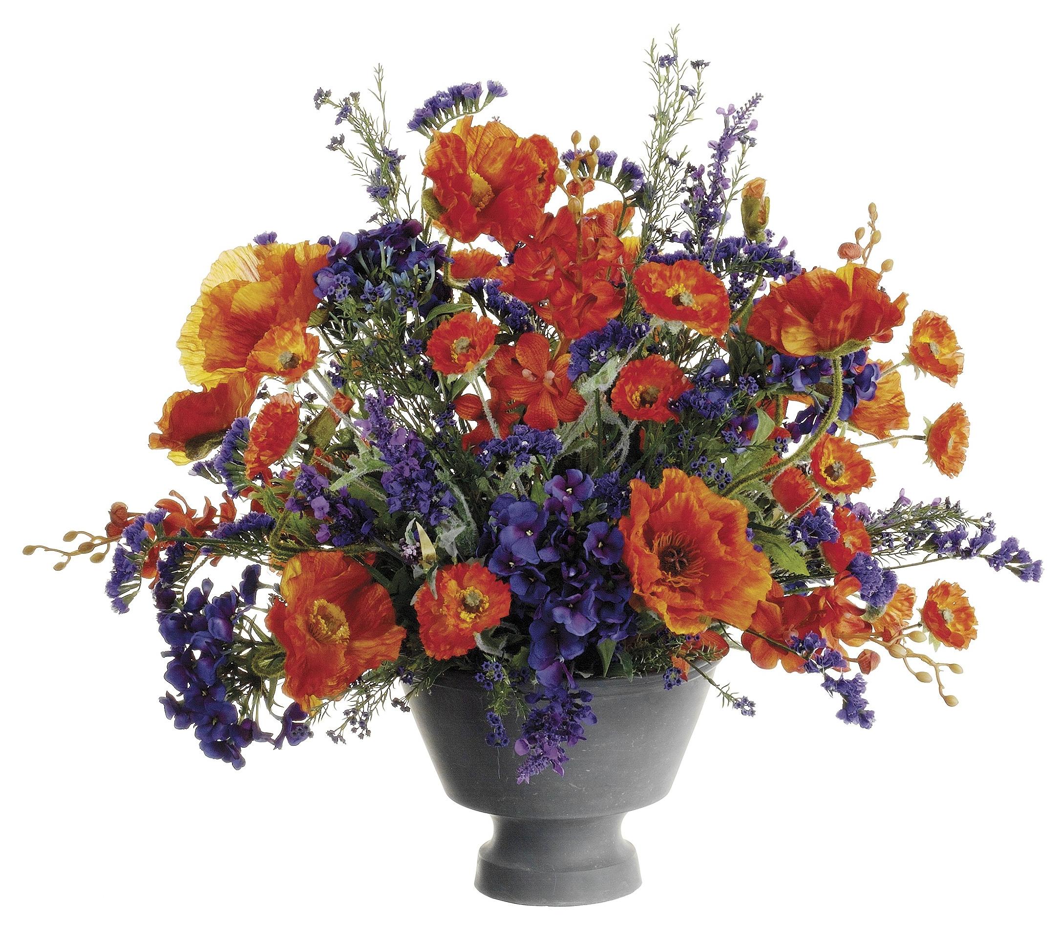 Image Result For Orange And Lavender Flower Arrangements Max