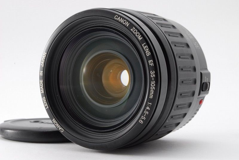 Exc Canon Zoom Lens Ef 35 105mm F 4 5 5 6 W Canon Front Cap From Japan 391 Canon