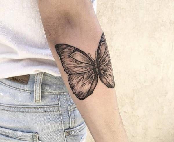 Tatuaż Motyl Znaczenie Historia 40 Zdjęć Pomysł Na Tatuaż