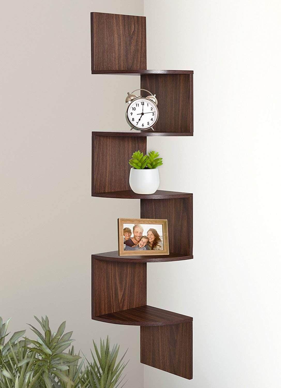 26 Amazing Corner Shelf Ideas That Will Maximize The Space In Your Rooms Corner Decor Corner Shelves Shelves