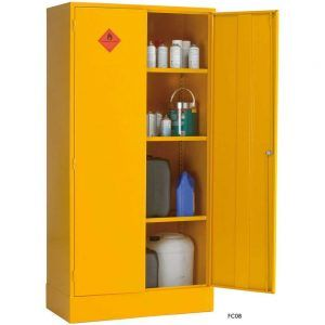 Ordinaire Yellow Flammable Storage Cabinet