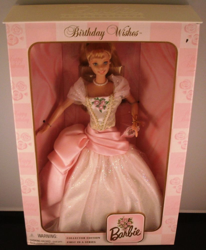 Barbie Birthday Wishes Collector Edition 1998