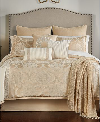 Hallmart Collectibles Bryn 14 Pc California King Comforter Set Created For Macy S Reviews Bed I Comforter Sets King Comforter Sets Beautiful Bedding Sets