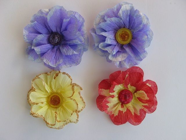 Crepe Paper Flowers By Marney Cards And Paper Crafts At