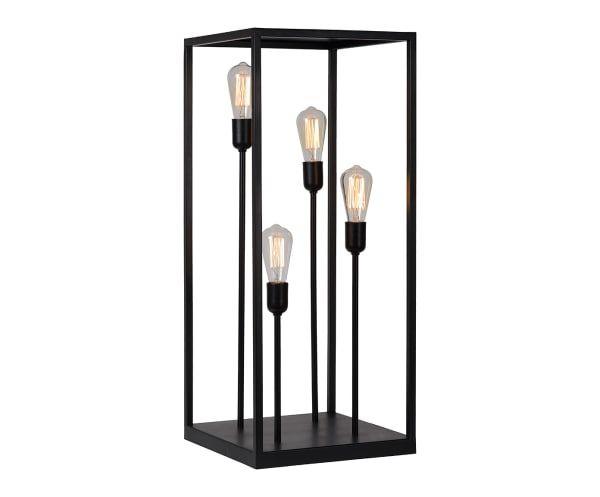 Lampe à poser, noir - H84