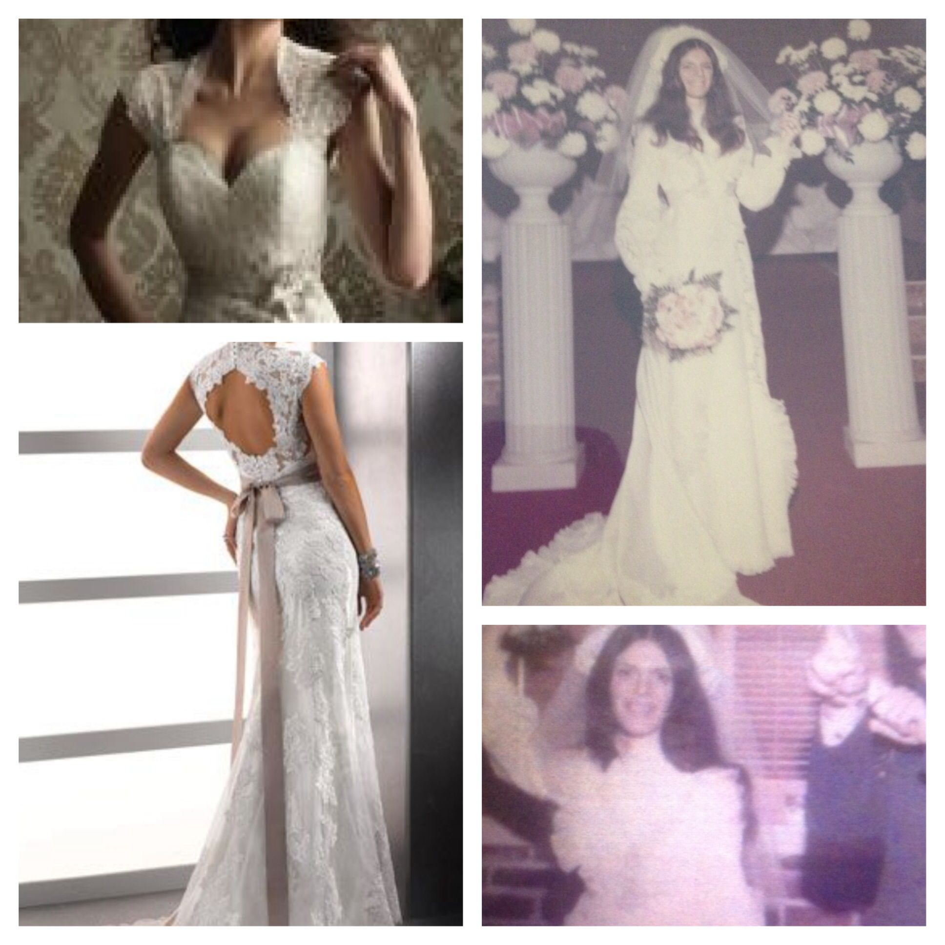 Diy Wedding Gowns: Reusing My Mother's Wedding Dress In 2019