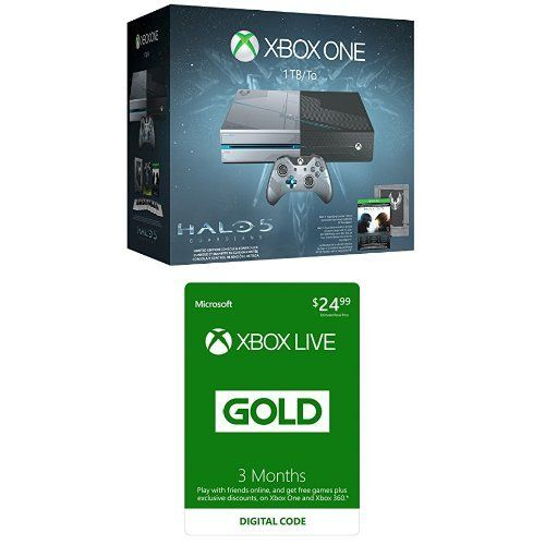 xbox one 1tb console halo 5 guardians limited edition bundle with