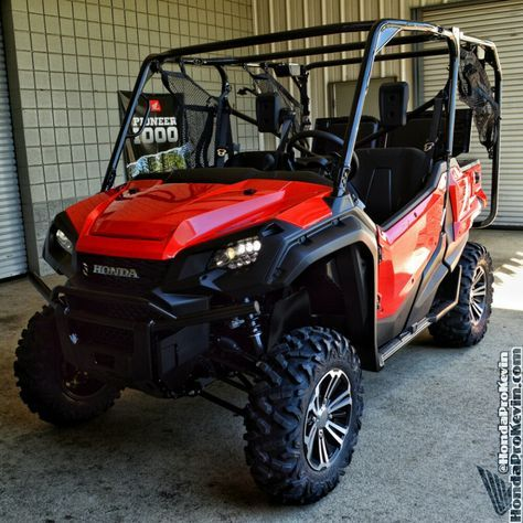 Fastest Honda Side By Side Utv Atv Ever Made Pioneer 1000 Sxs Drive Review Top Speed Specs Features Pictures Videos Honda Pioneer 1000 New Honda Atv