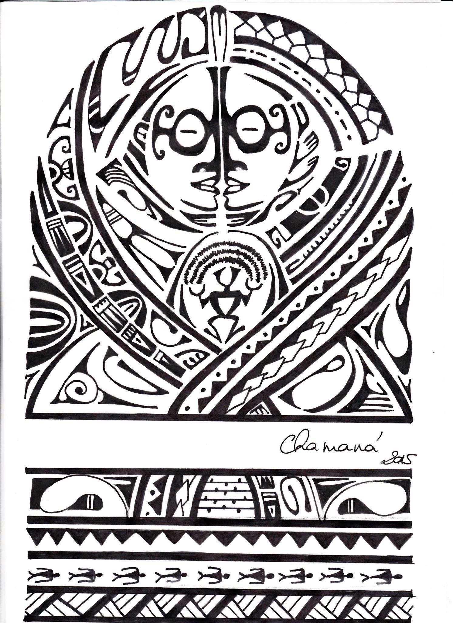 Bracelet Polynésien Tatouage avec Épinglé par terry constant sur maori & polynesian | pinterest