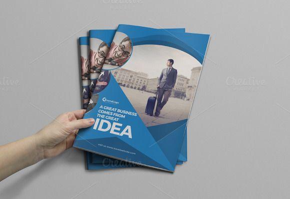 Corporate Bifold Business Brochure @creativework247 Brochure
