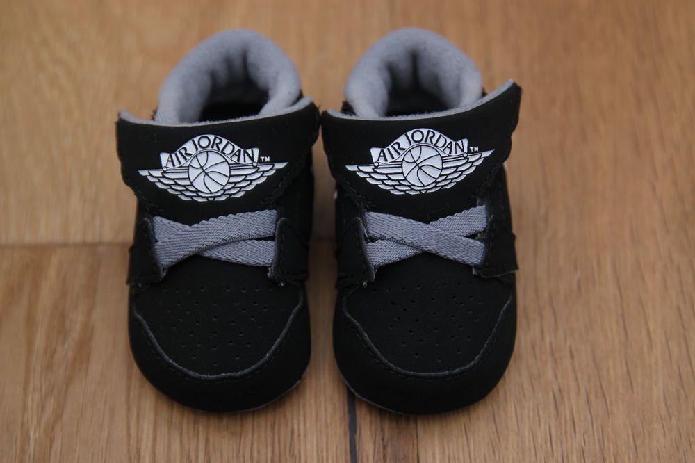 Air Jordan Baby Boy 1st Crib Shoes
