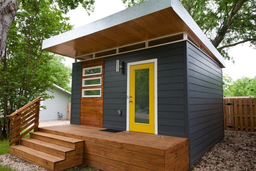 Tiny Home Communities In Ohio Open Concept Rustic Modern House
