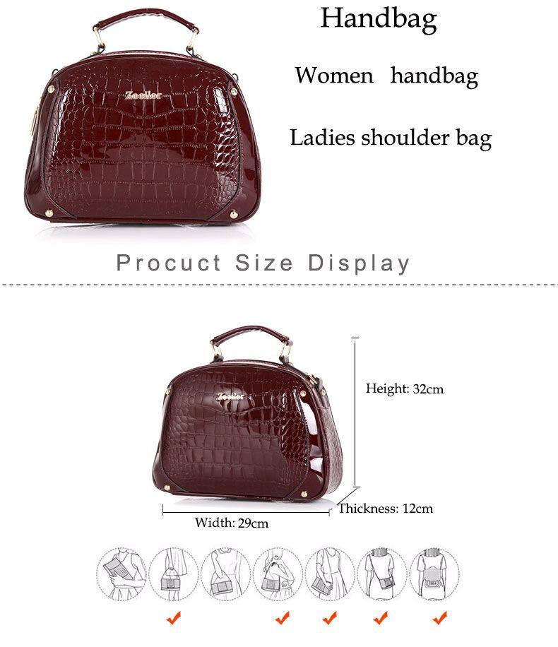 bc19e85663  35.46 - Awesome New 2016 Women Bag Luxury Messenger Bags Female Designer  Leather Handbags High Quality