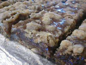 Cookie Recipe Box: Gina's Caramel Oatmeal Chewy Bars