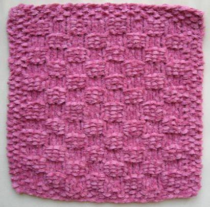 Knitting Dishcloths Free Patterns   Puntos