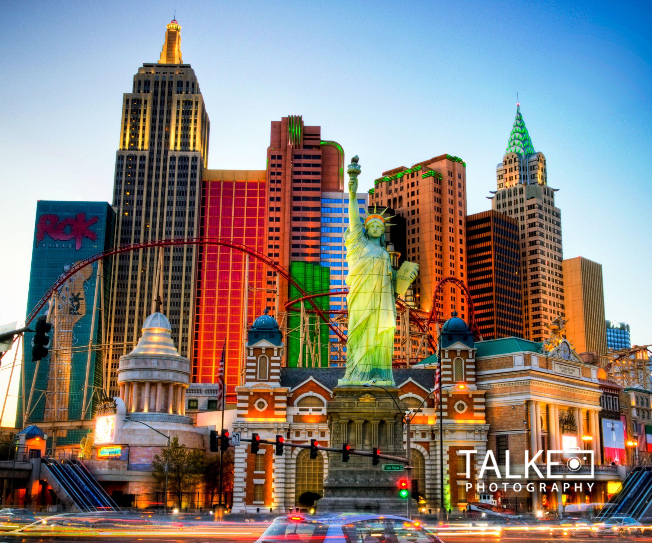 Las Vegas Nyny Hdr Mousepad Las Vegas Images Las Vegas Hotels Las Vegas Pictures