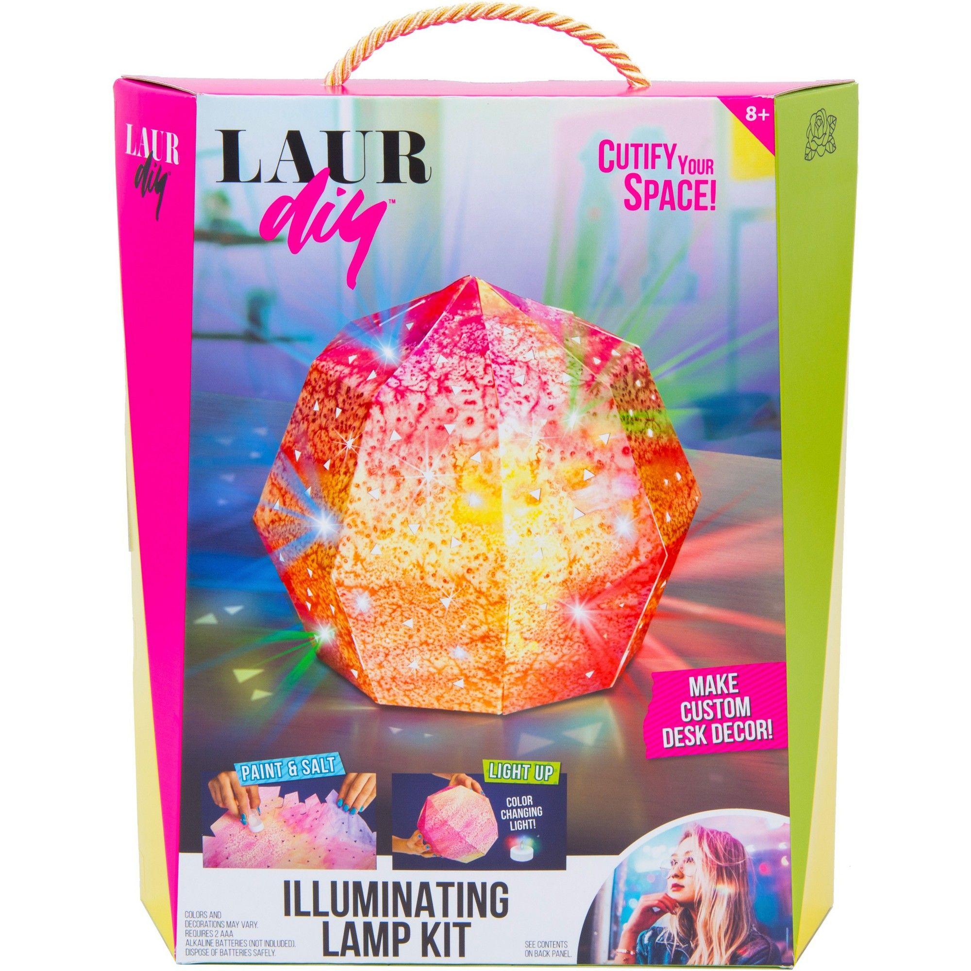Laurdiy Illuminating Lamp Craft Kit Craft Kits Laurdiy Diy