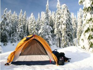 Photo of See how experienced campers dress for cold weather, and the winter camping gear …