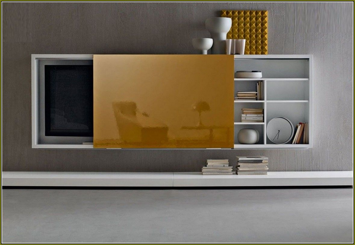 Sensational Flat Screen Tv Cabinet With Sliding Doors Apt In 2019 Download Free Architecture Designs Viewormadebymaigaardcom