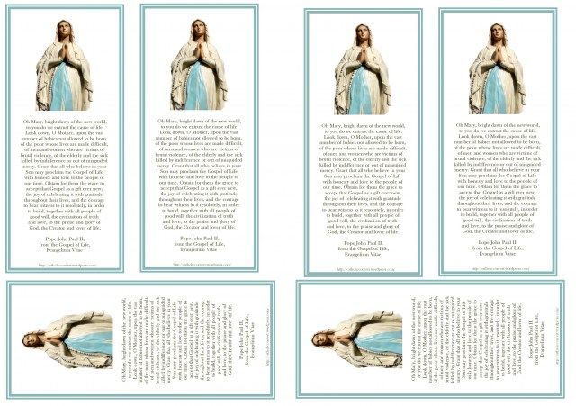 17 Best images about Catholic prayer cards on Pinterest   Mothers ...