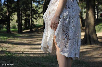 Sayuri Mei: Crochet Tablecloth Dress