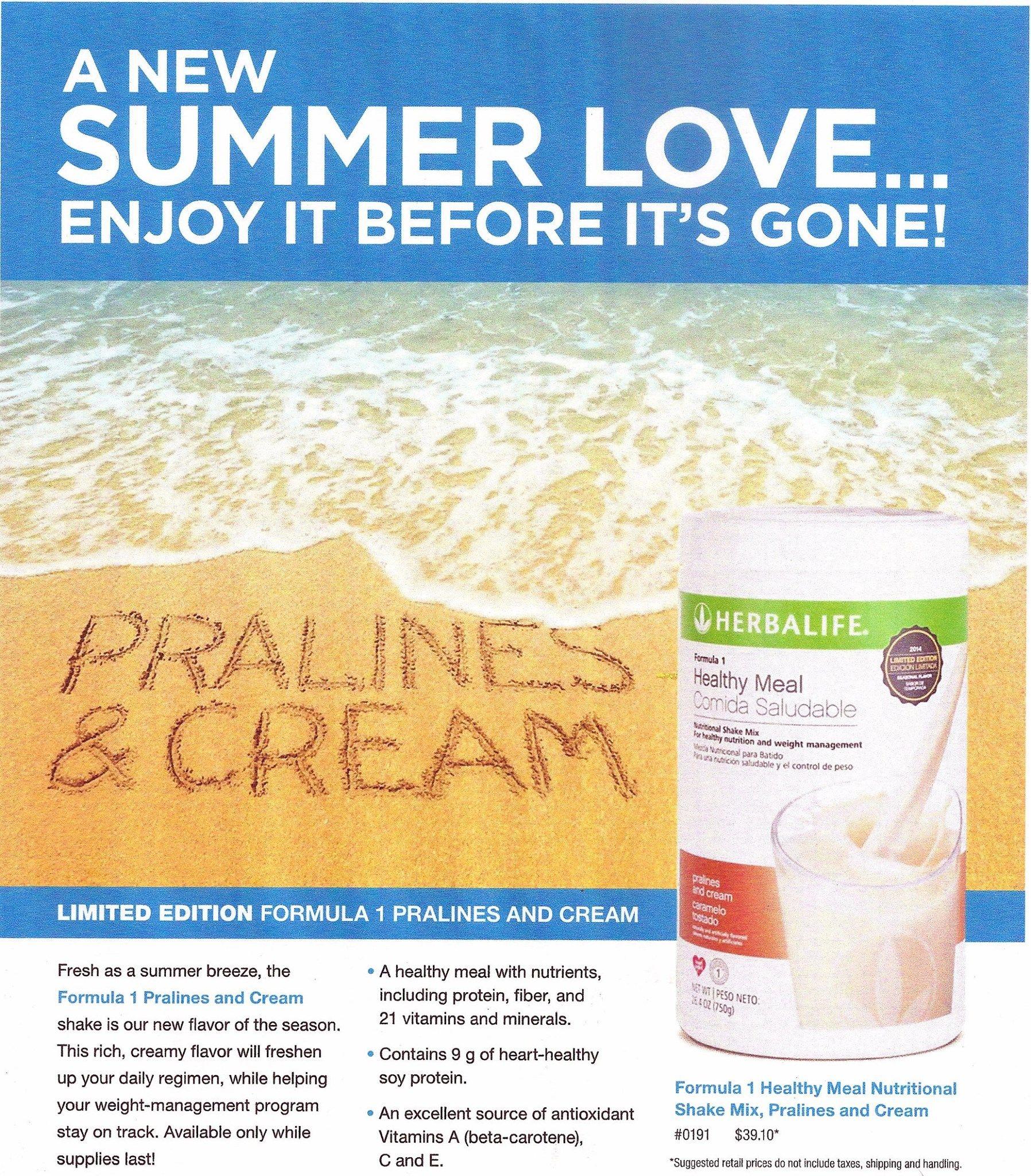 Herbalife Shake Recipes Praline And Cream