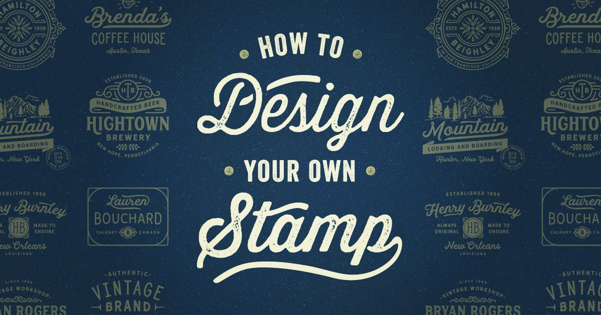 how to design your own stamp creative inspiration blog howto