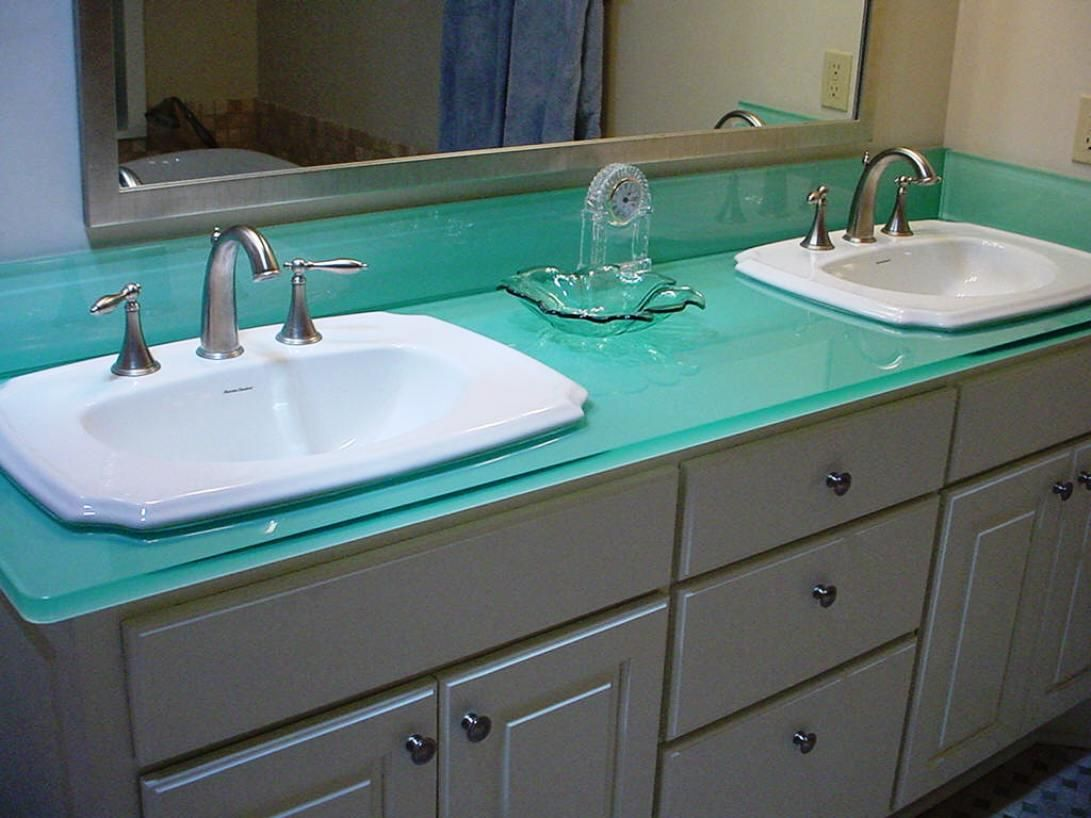 Web Photo Gallery Glass countertop in bathroom counter top paint sink sand Home Interior Design and Decorating City Data Forum