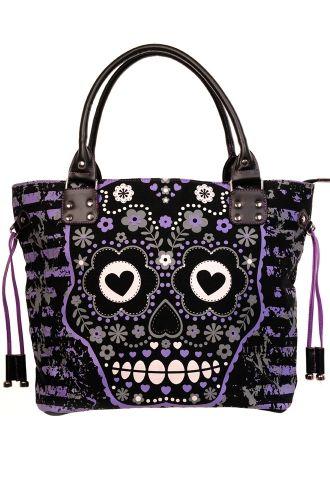 Banned Sugar Skull Shoulder Bag 21 99 Atudeclothing Co Uk Product 32462 64 2278 Htm