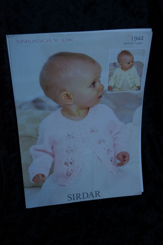 Sirdar Knitting Pattern Baby Child\'s Sweater Knitting Pattern ...
