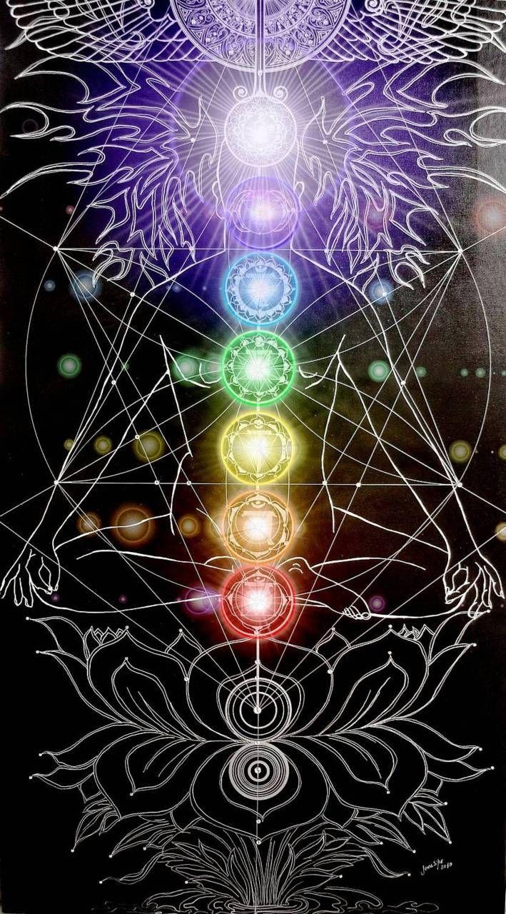The Chakras With The Tarot Keys: The Chakra Goddess