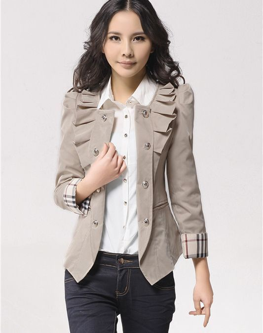 women-jacket-high-quality-slim-elegant | I like.... | Pinterest ...
