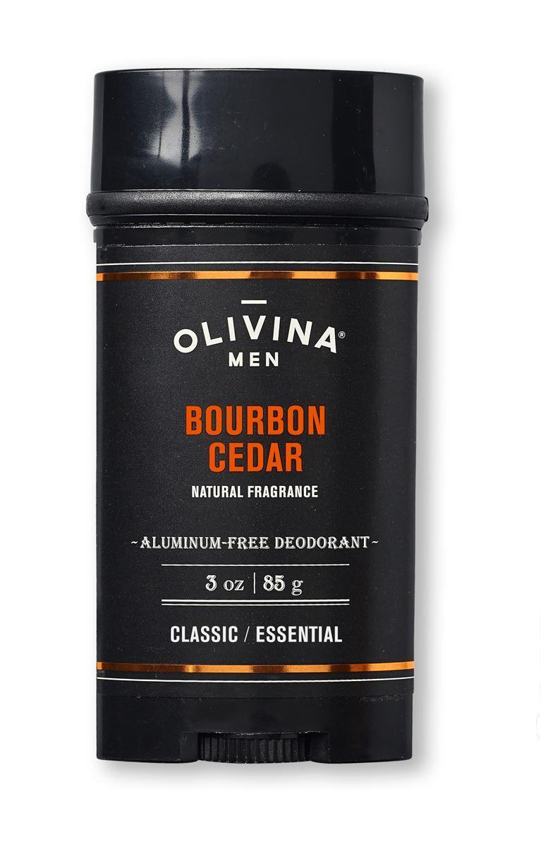 Aluminum Free Deodorant Bourbon Cedar 3 oz Paddywax