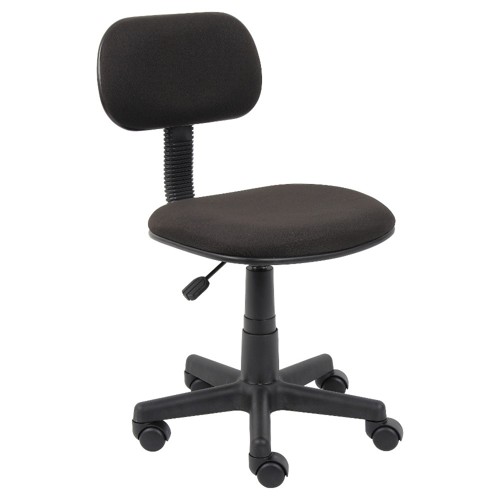 Fabric Steno Chair Black - Boss Office Products