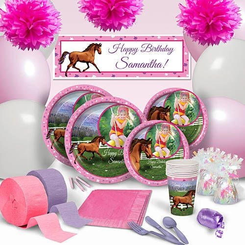 Our Hooray For Horses Party Supplies Feature A Majestic